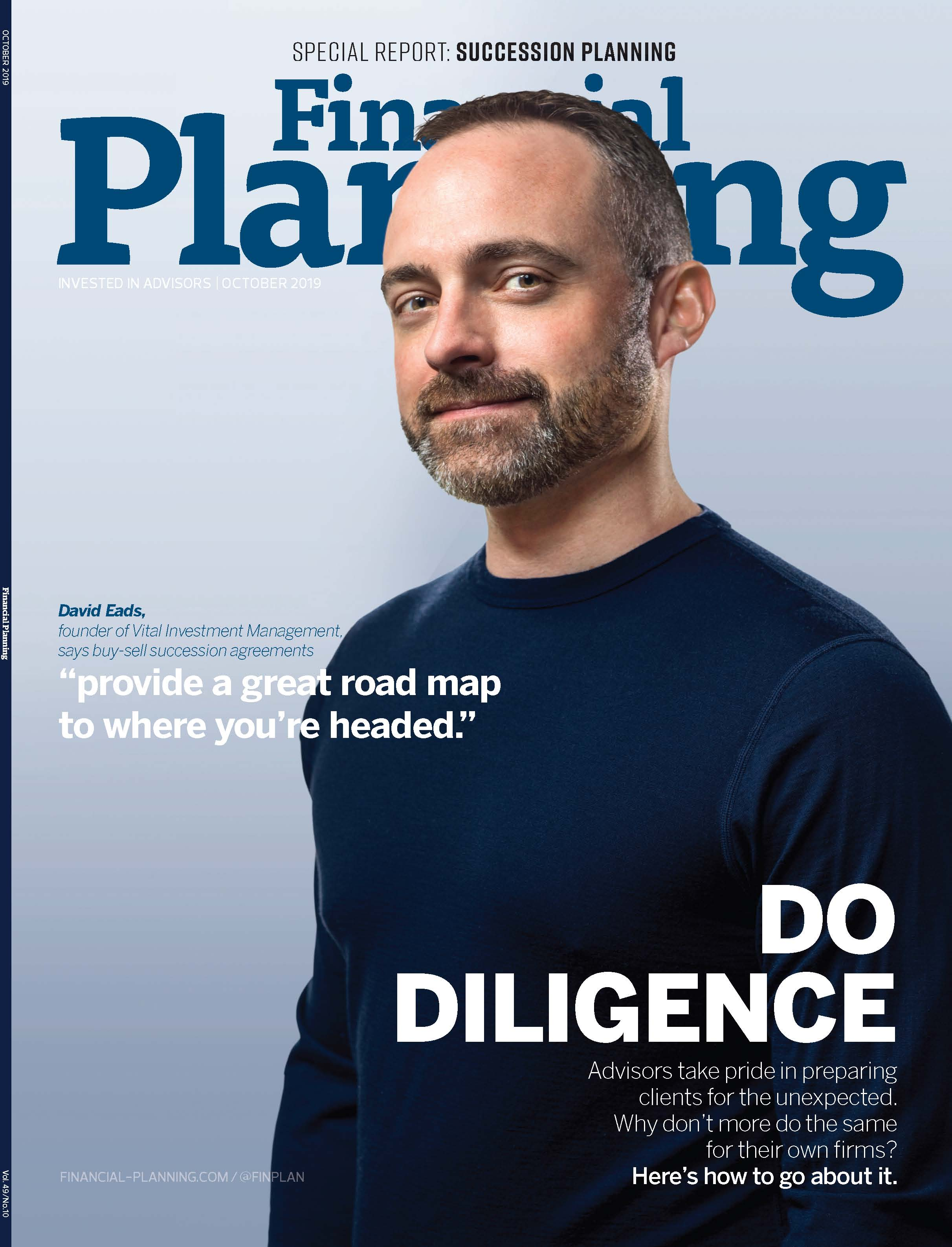 Financial Planning magazine October 2019 Cover